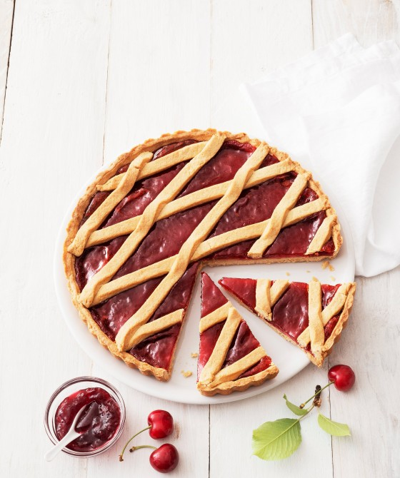 Crostata a la cereza